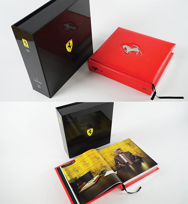 You Could Either Spend $175K on a Supercar, Or The Official Ferrari Opus Book