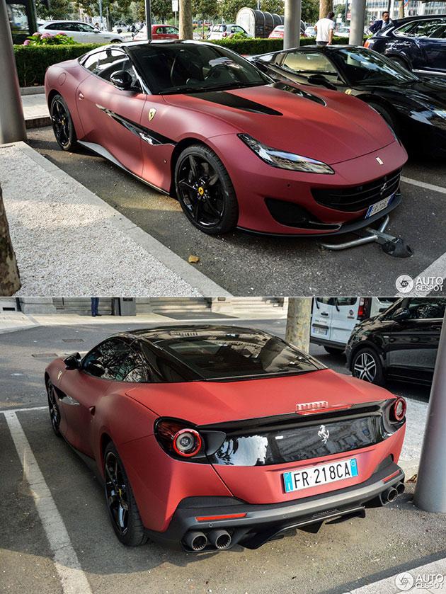 Ferrari Portofino Wrap