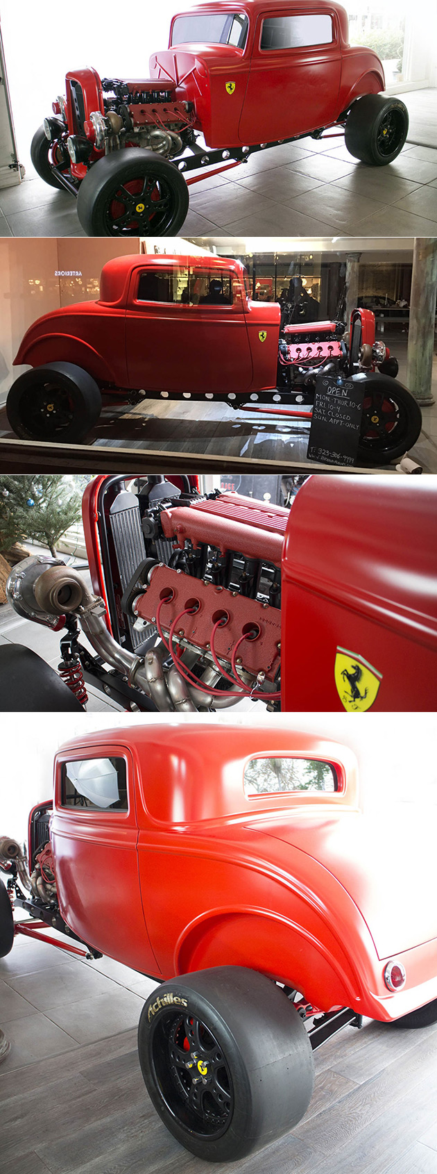 Ferrari-Powered Hot Rod