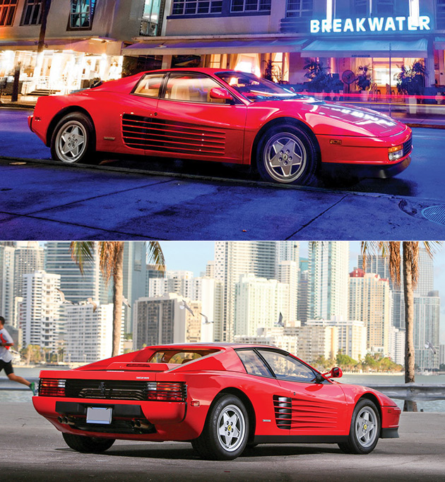 Ferrari Testarossa Facts