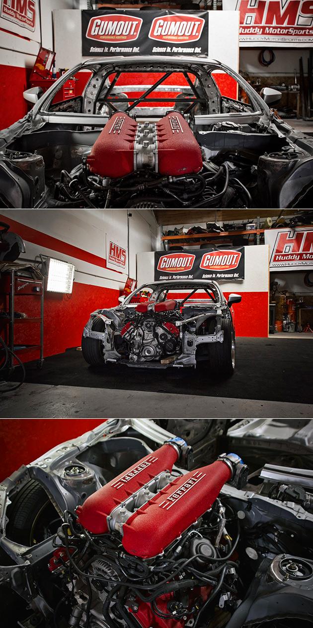 Ferrari Toyota GT86