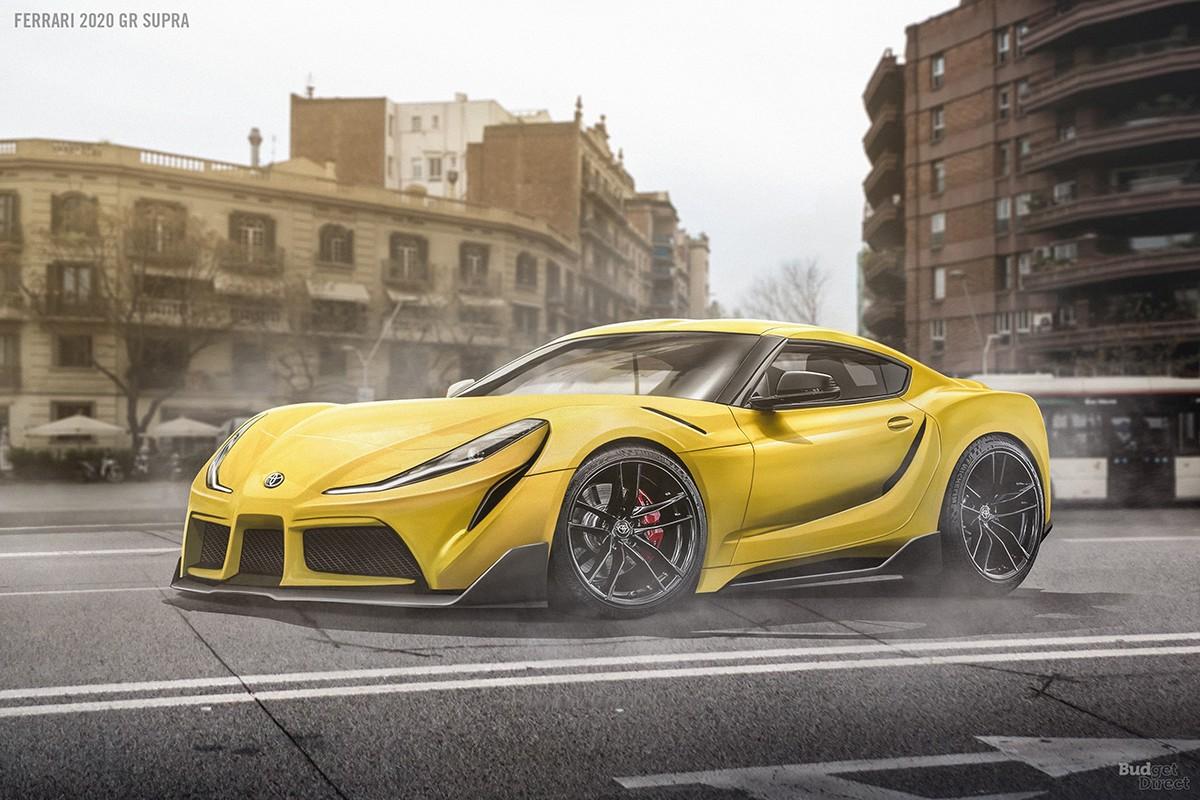 Ferrari Toyota Supra