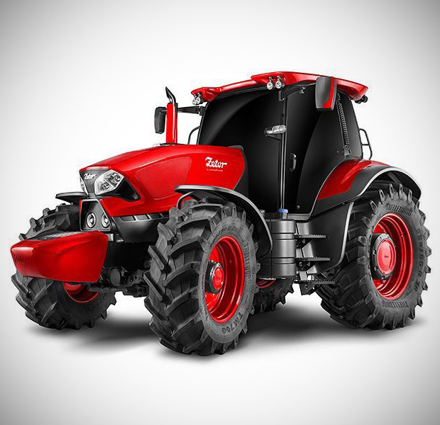 Ferrari Zetor Tractor