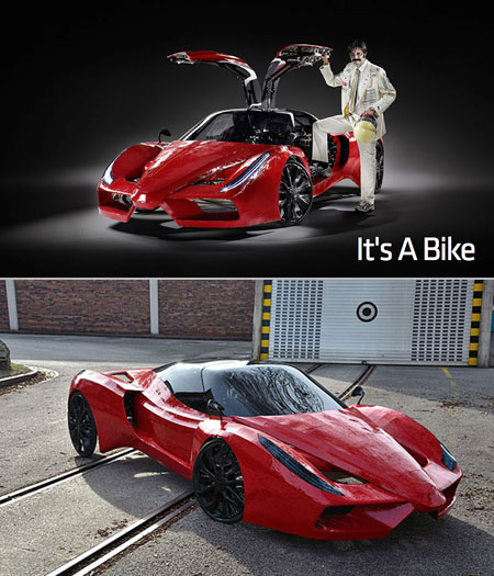 Ferrari BXX Bicycle