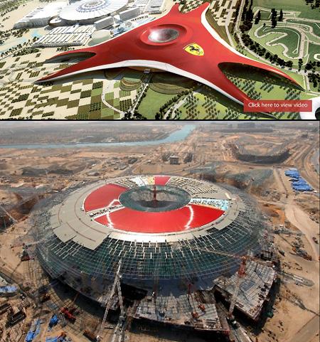 Ferrari World Abu Dhabi Video