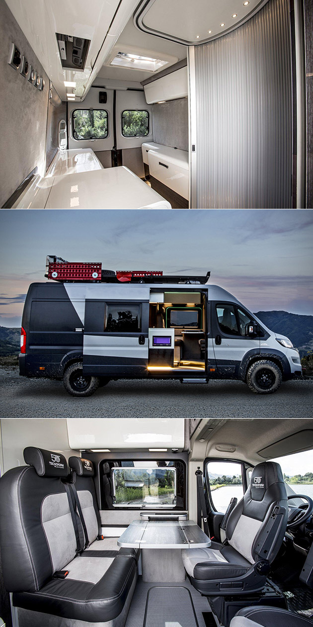 Fiat 4 4 Ducato Looks Like A Normal Van But It S Actually An