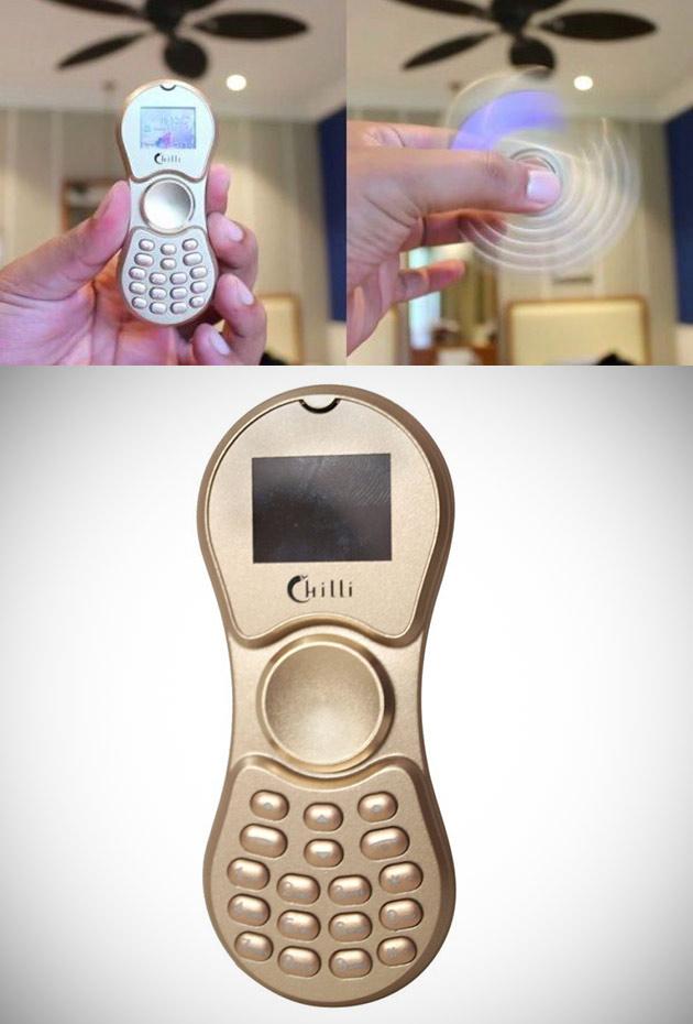 Fidget Spinner Phone Chilli K188