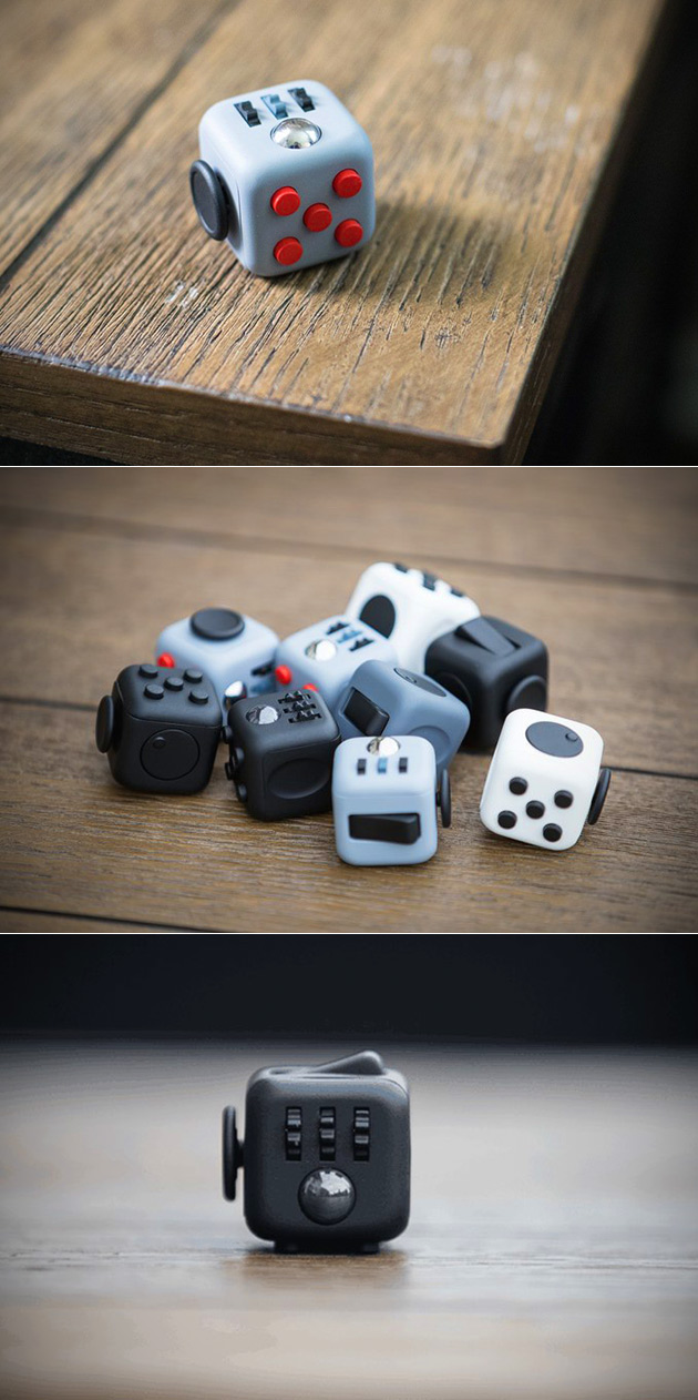 Fidget Cube Looks Like A Toy Is Actually Pocket Sized Gadget Designed To Increase Productivity
