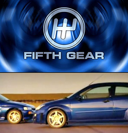 Fifth Gear: Ford Focus RS vs. Ford Escort Cosworth