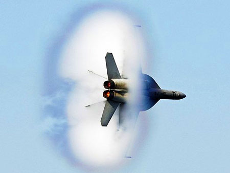 Mind-Blowing Fighter Jet Sonic Booms Captured by ...