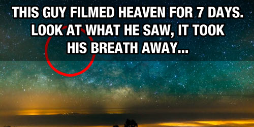 This Man Filmed The Night Sky For A Week What He Witnessed Took - Man filmed this heaven for 7 days