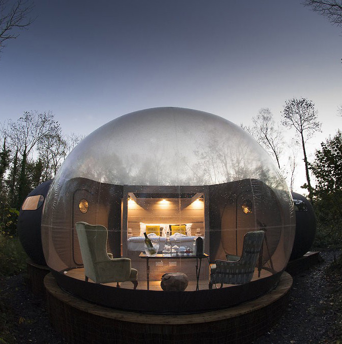 Finn Lough Bubble Dome