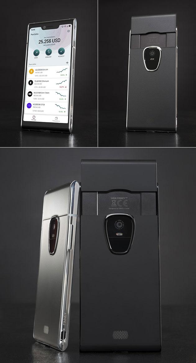 FINNEY ist der Weltweit Erste Dual-Screen-Blockchain-Smartphone Kostet $1,000