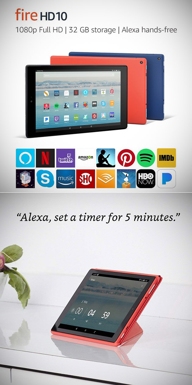 Fire HD 10 Tablet Alexa
