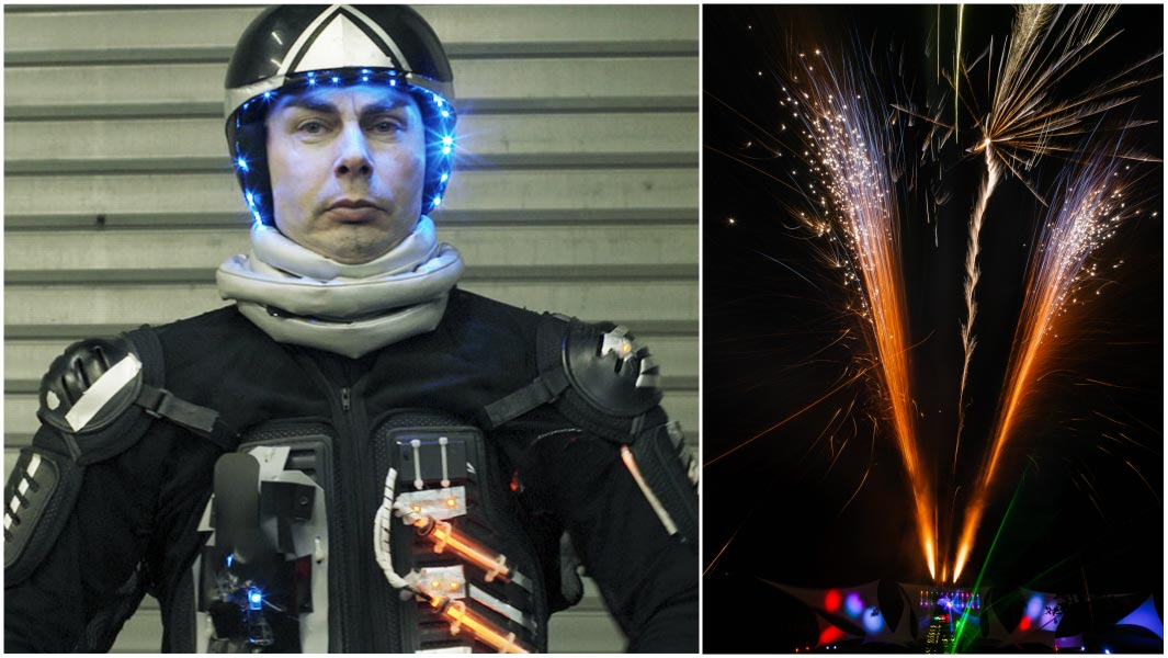 Firework Pyrotechnic Suit