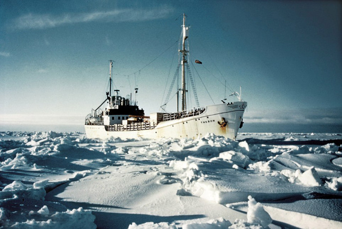 First Antarctic Crossing