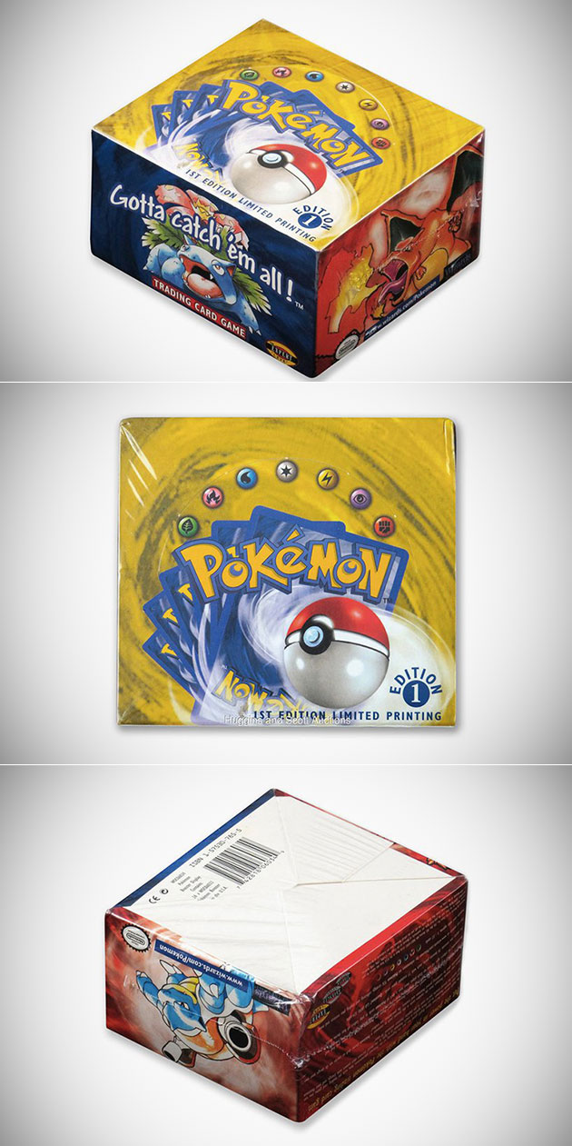 First Edition Pokemon Cards Box
