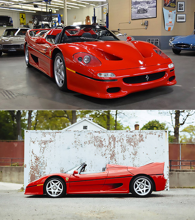First Ferrari F50 Ever Manufactured Could Sell for in Excess of $2-Million, Here's an Up-Close Look