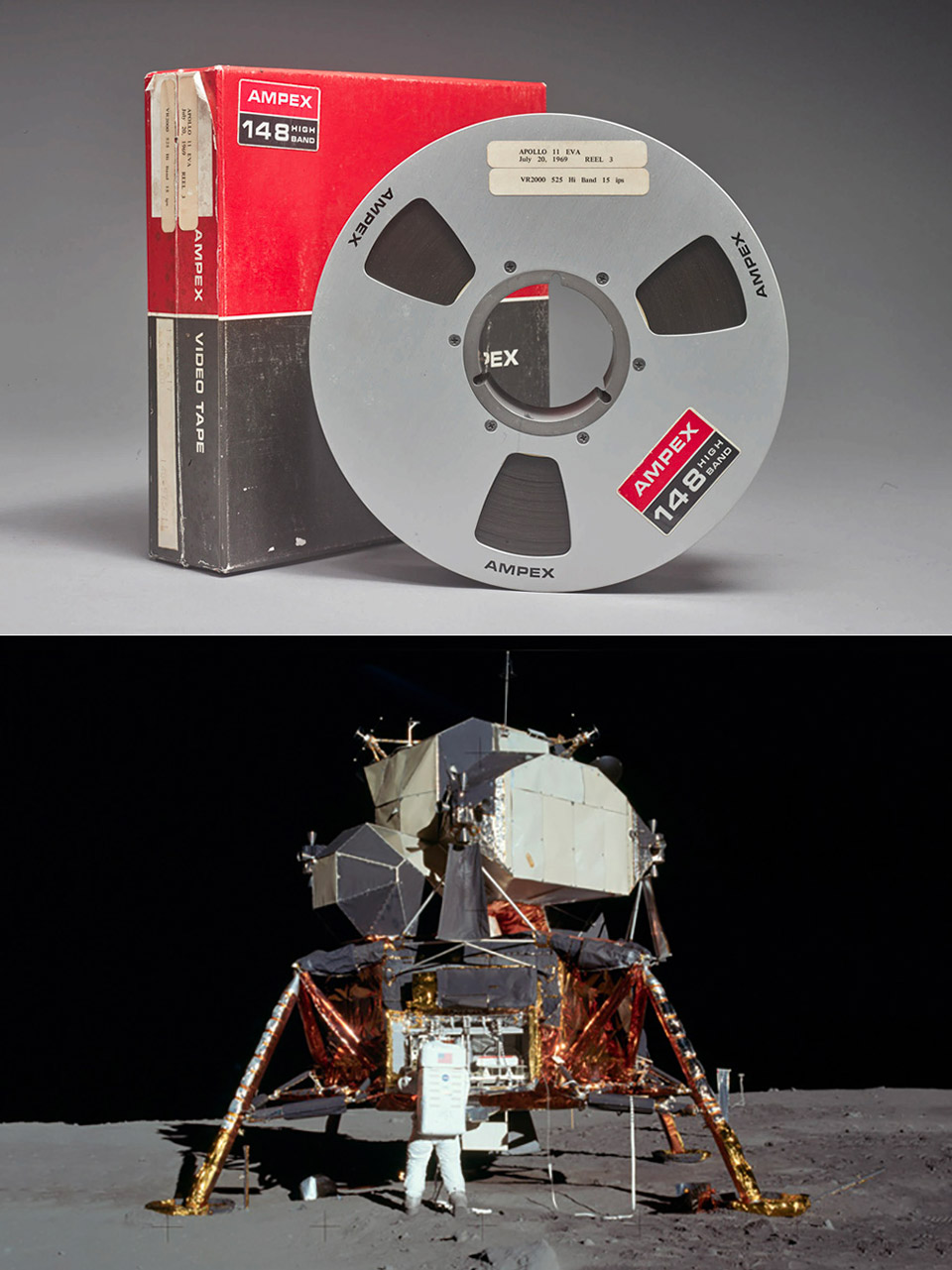 First Generation Recording Apollo 11