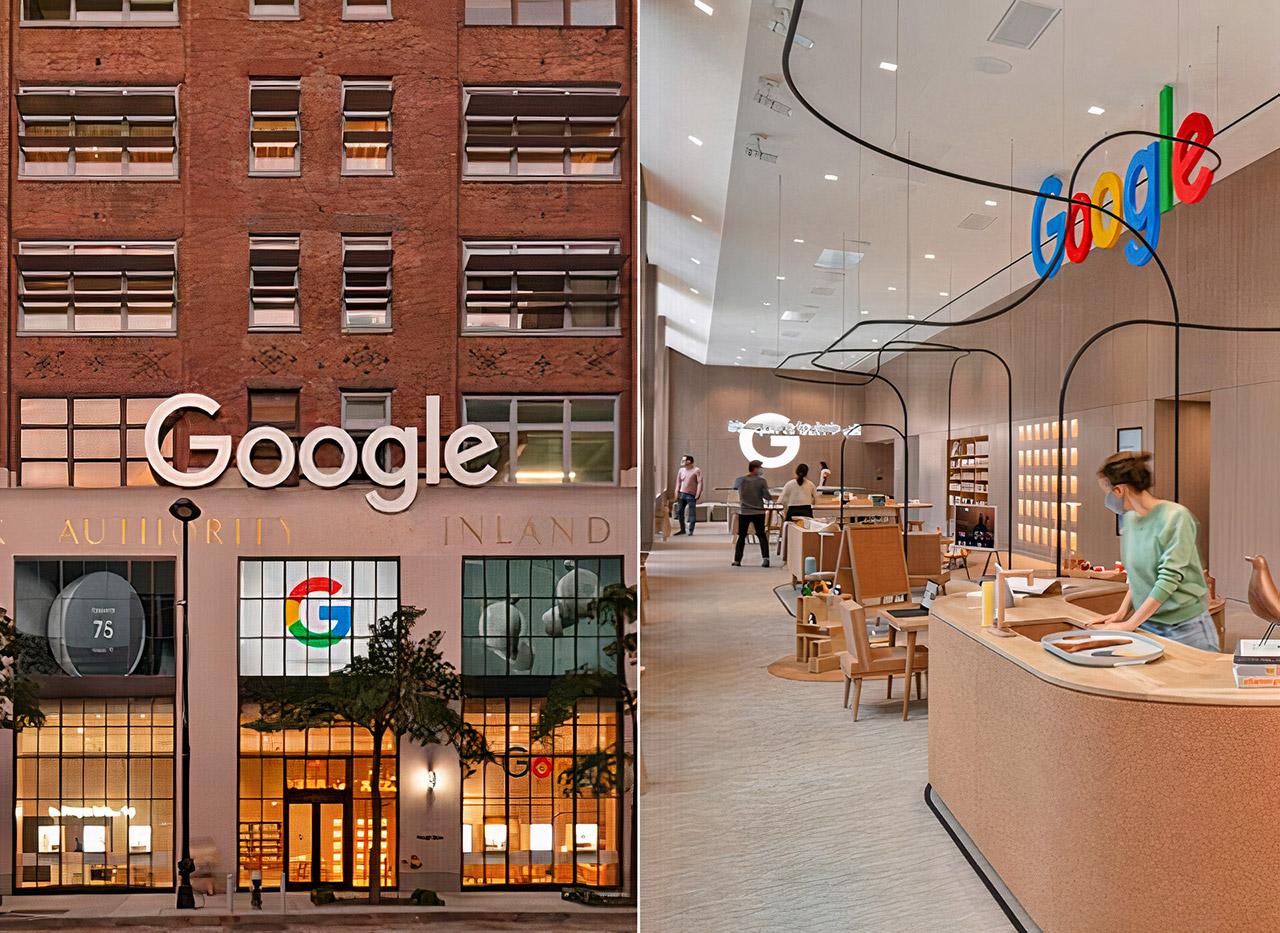 First Google Store New York