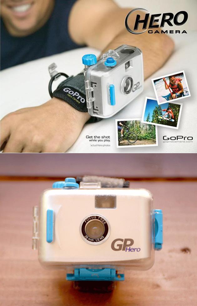 First GoPro Camera