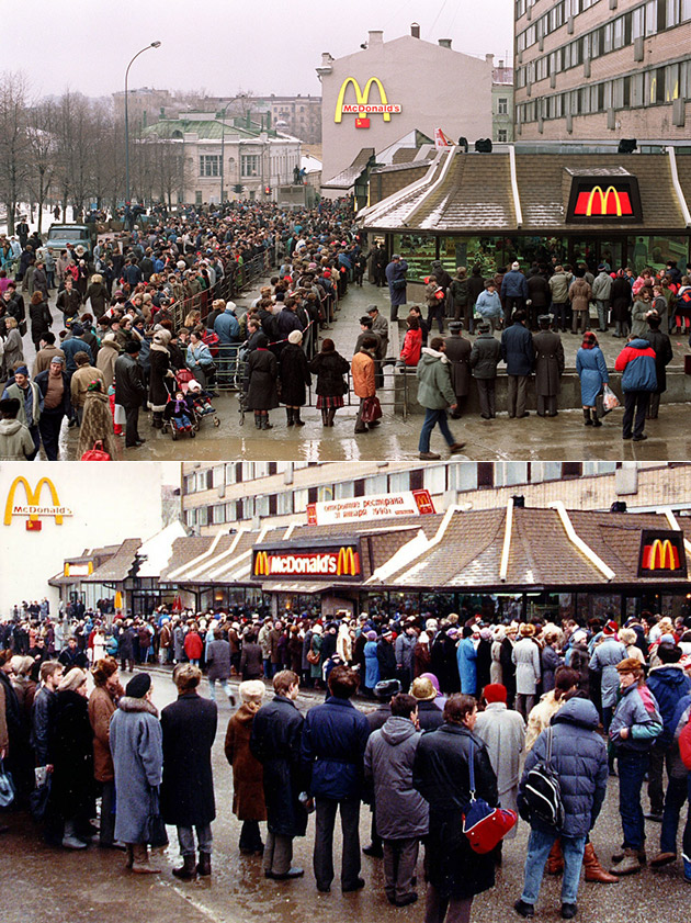 First McDonalds Moscow