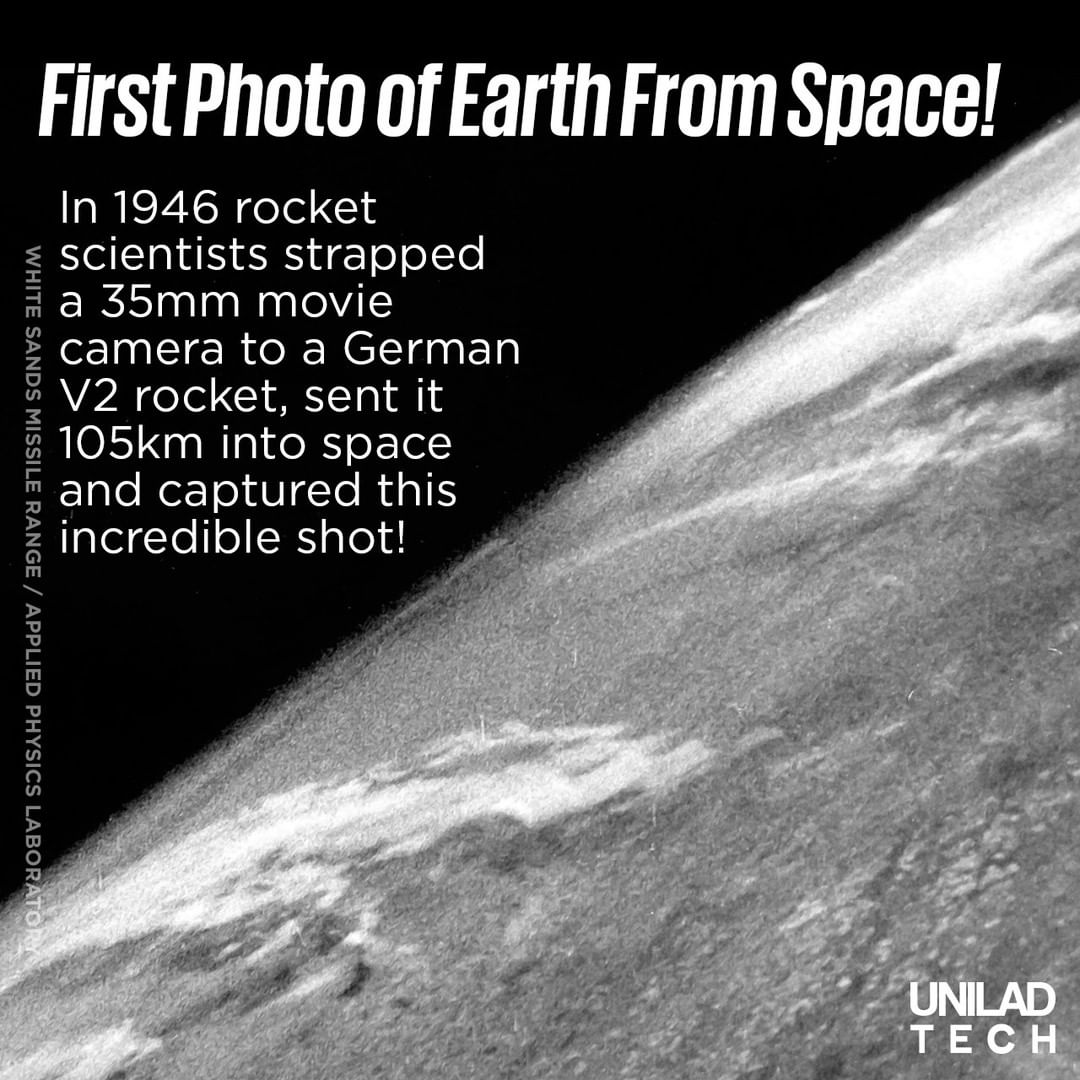 First Photo Earth from Space