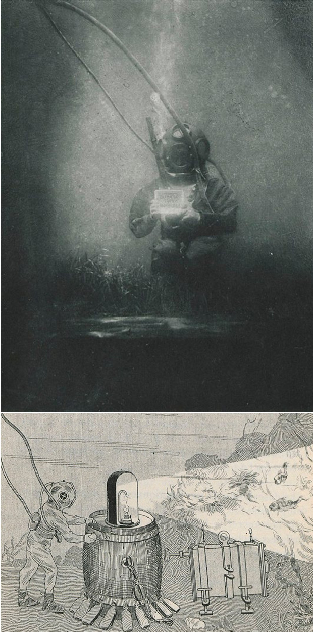 First Underwater Photograph