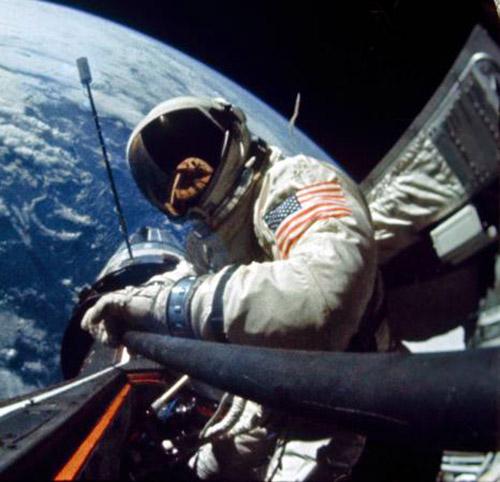 First Space Selfie