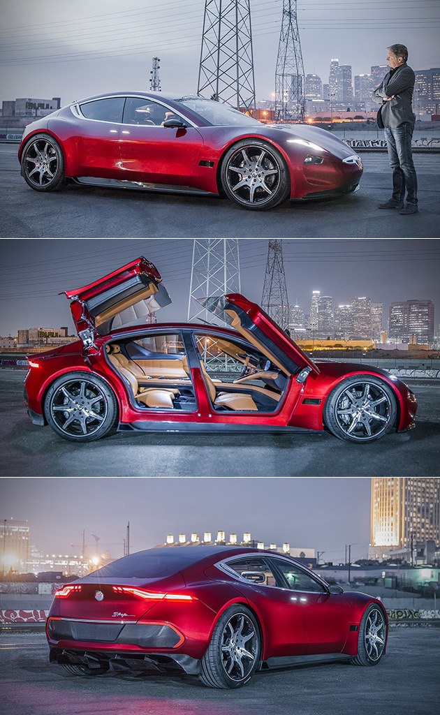 Fisker EMotion Officially Revealed at CES, is All-Electric Luxury Vehicle with Suicide Butterfly Doors