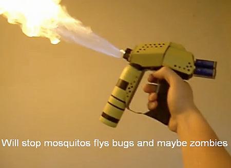 Как сделать мощный огнемет