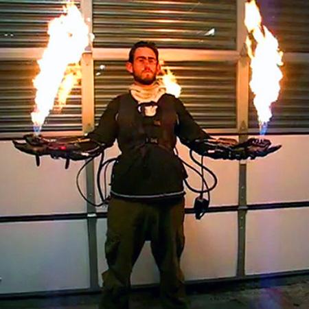 Top 5 Coolest Homemade Flamethrowers – TechEBlog