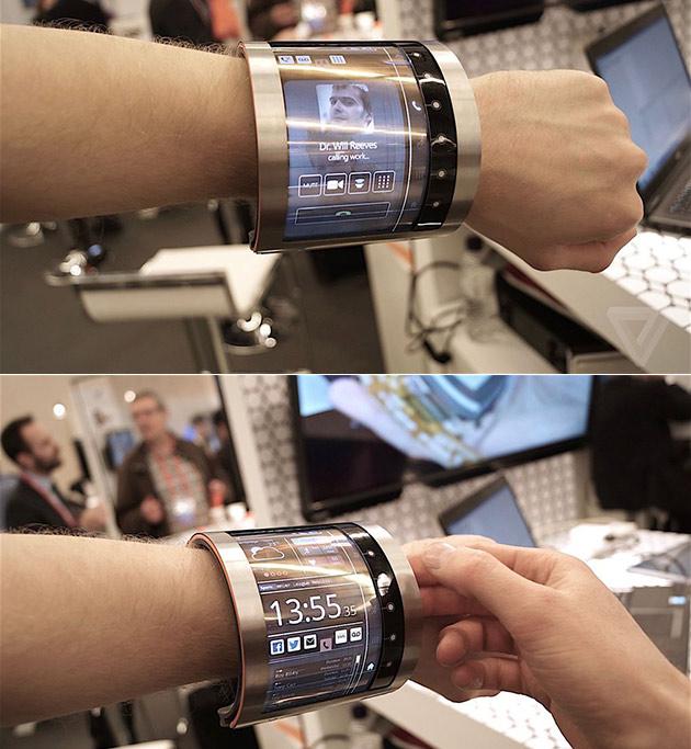 FlexEnable Flexible Display