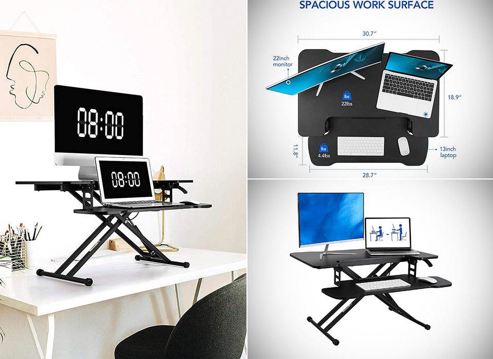 Flexispot 31-inch Standing Desk Converter Riser M18M