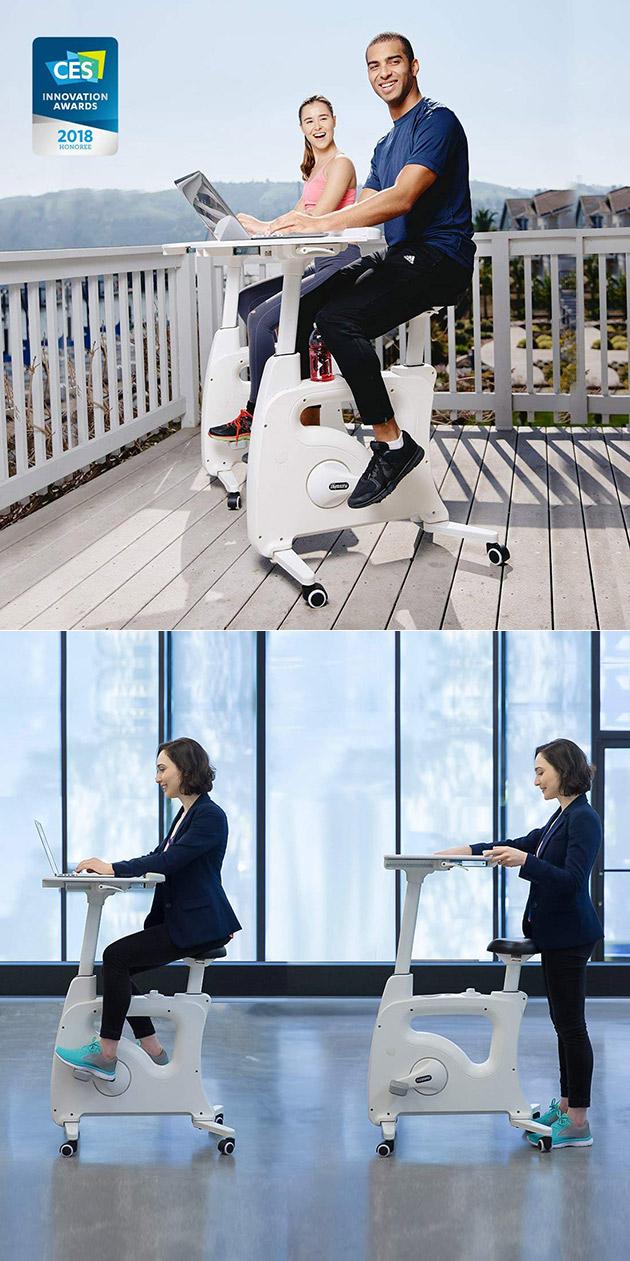 Flexispot Deskcise Pro Exercise Desk