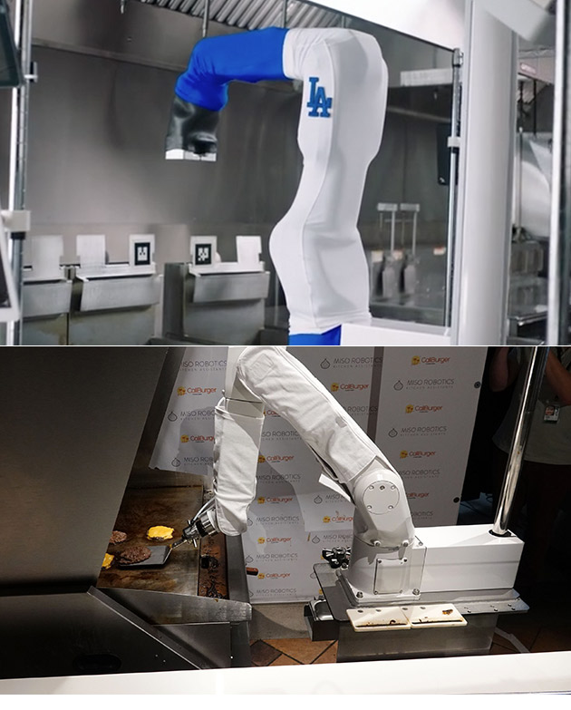 Flippy Burger Robot