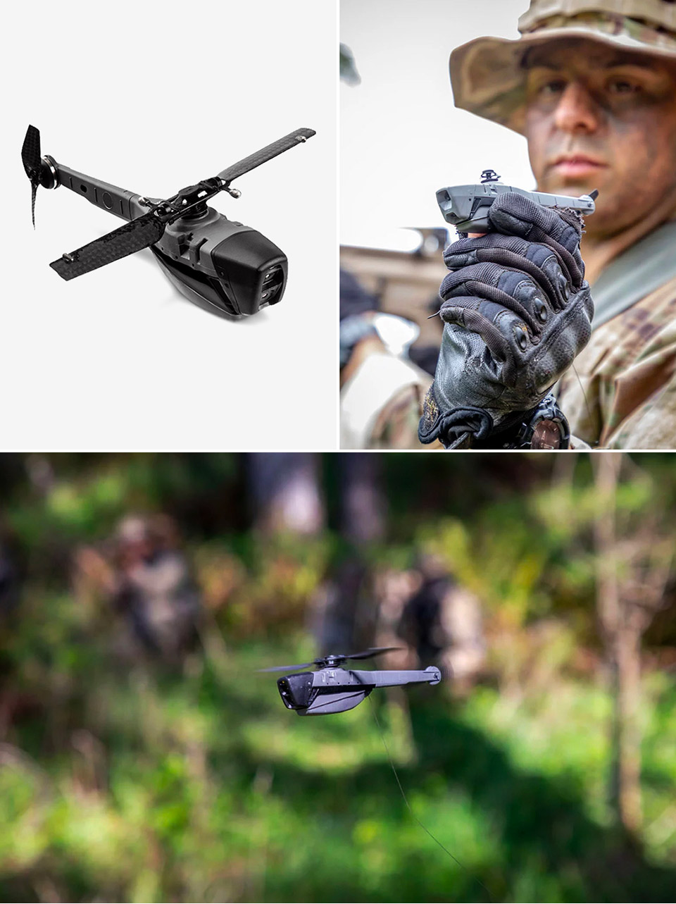 FLIR Black Hornet Smallest Drone