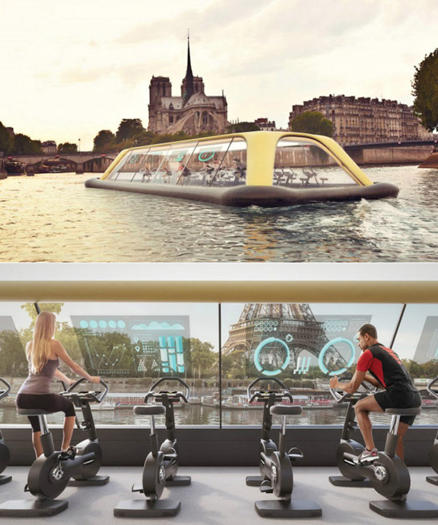 Floating Gym Paris