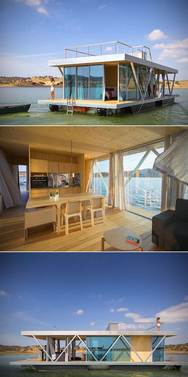 Floating Home Off Grid