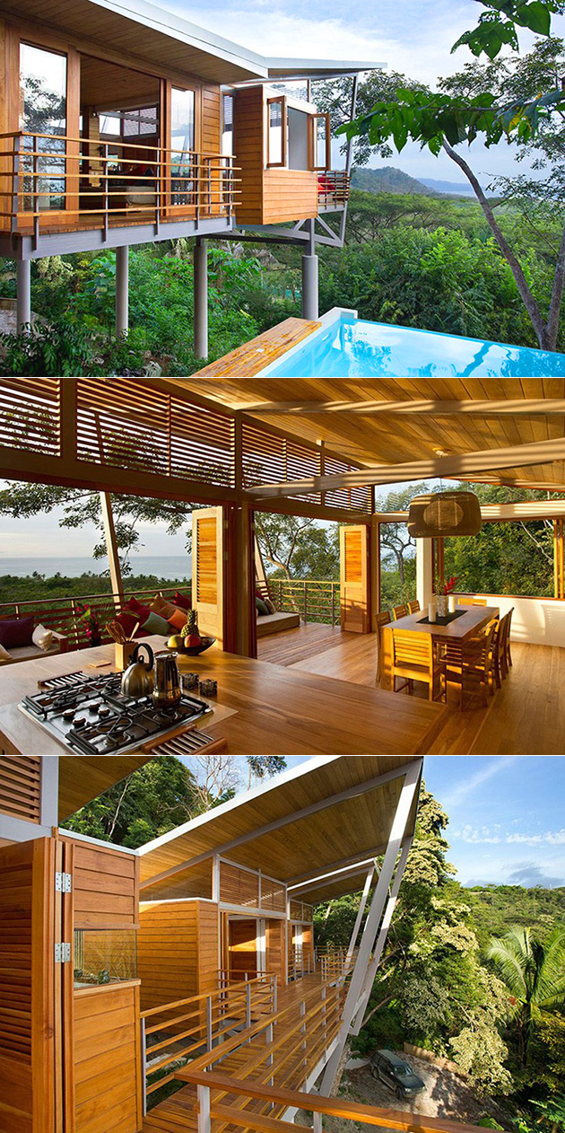 Floating House Jungle