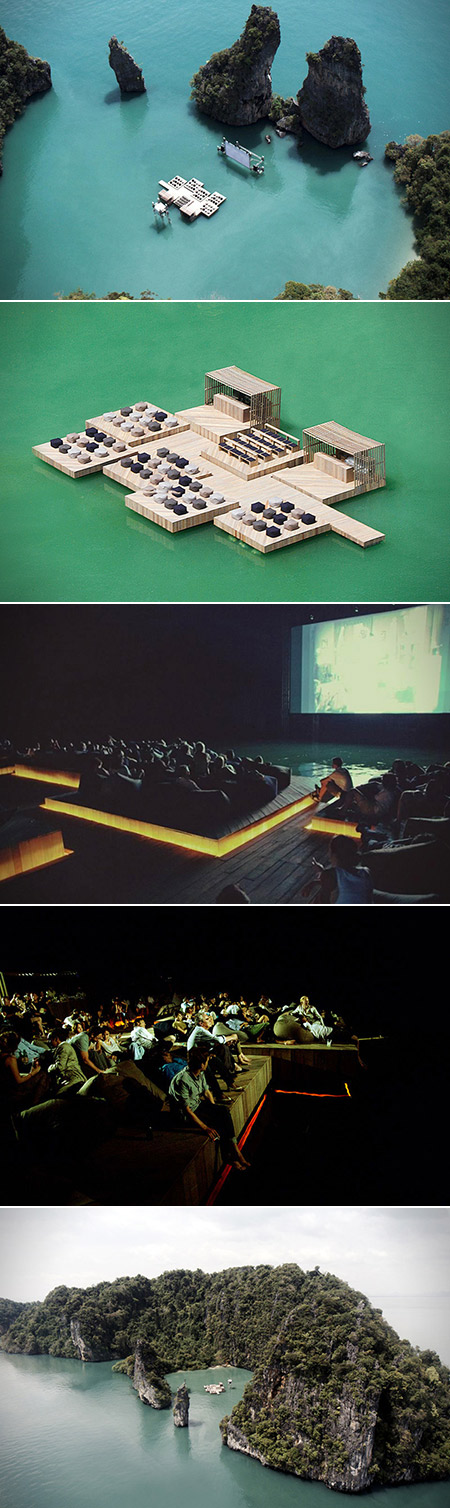 Archipelago Cinema is a Floating Movie Theater Tucked Away on a Small ...