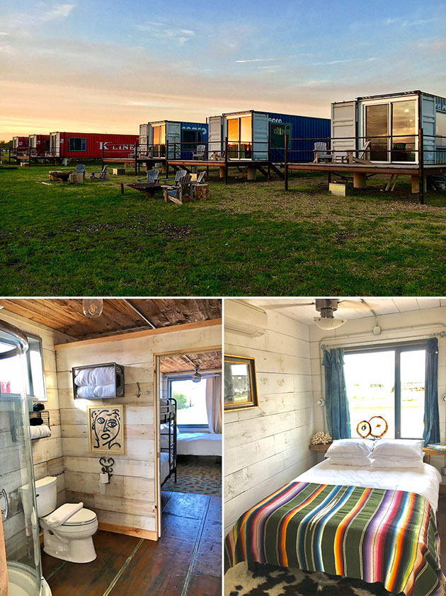 Flophouze Shipping Container Hotel