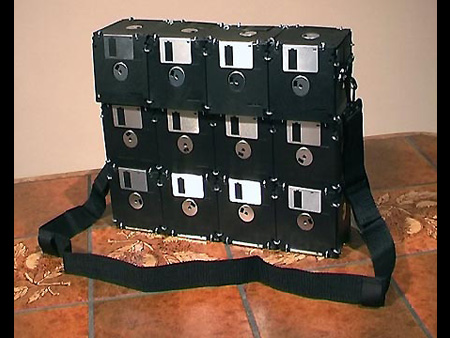 Feature creative floppy disk uses techeblog - Uses for old floppy disks ...