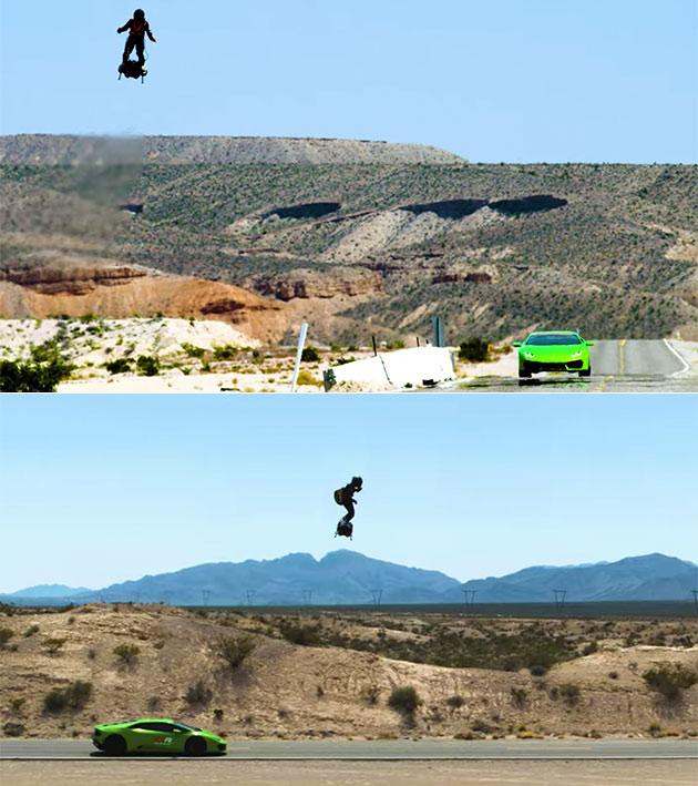 Flyboard Lamborghini