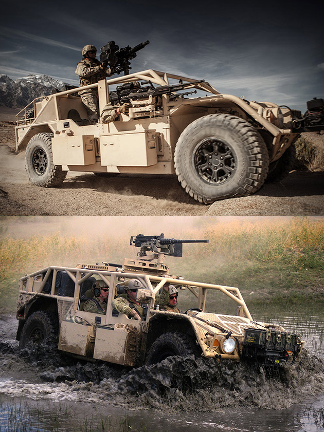 Flyer 60 Tactical Vehicle