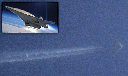 Flying Triangle Captured Over Kansas, Might Be Classified SR-72
