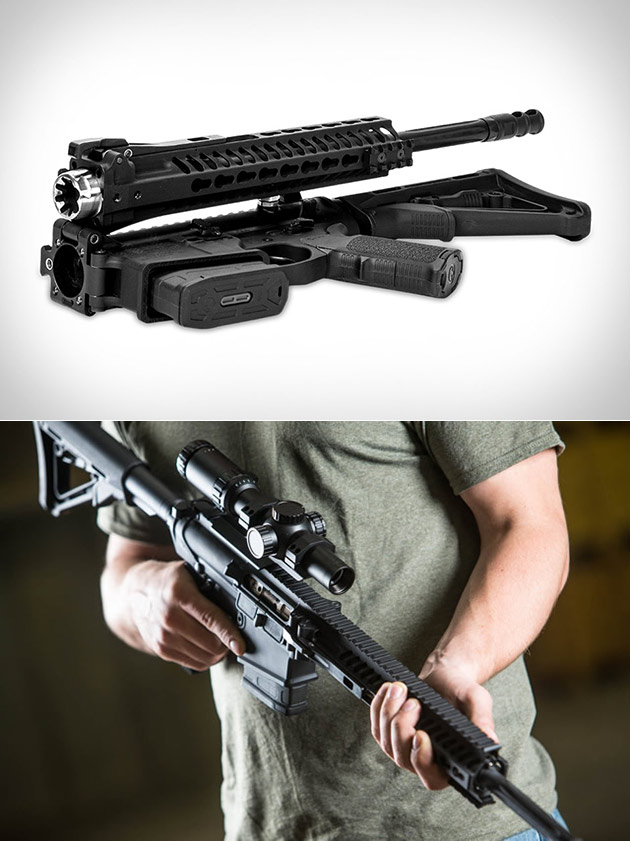 Folding Automatic Rifle