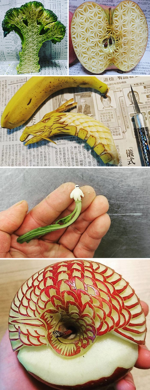 Food Carvings