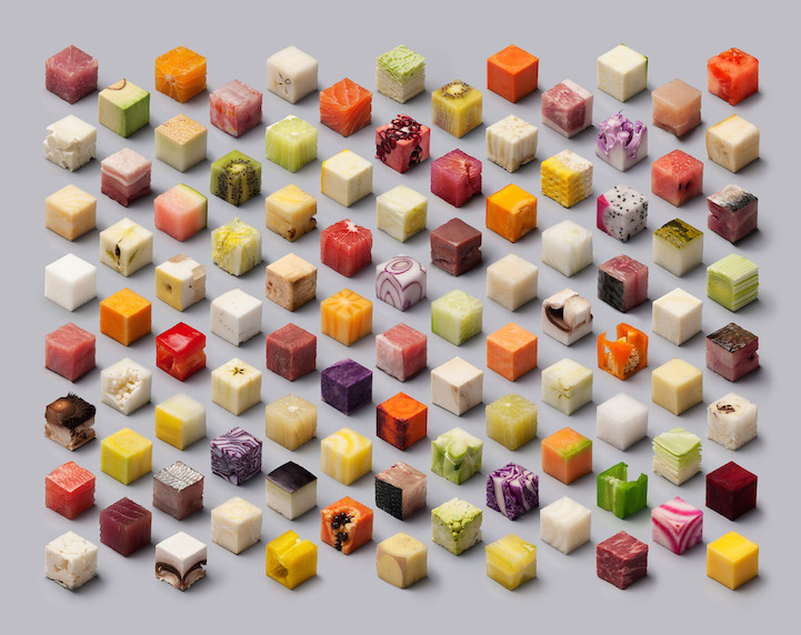 Food Cut Into Cubes