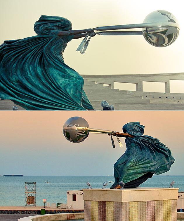 Gravity Defying Sculpture